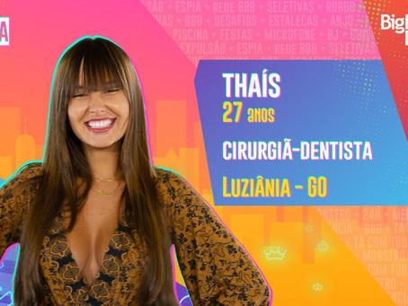 BBB 21: Thais é a décima eliminada do reality show com 82,29%