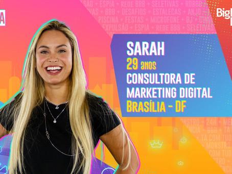 BBB 21: Sarah Andrade é eliminada com 76,76% dos votos
