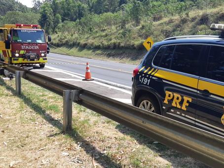 Acidente na BR 317 em Ortigueira