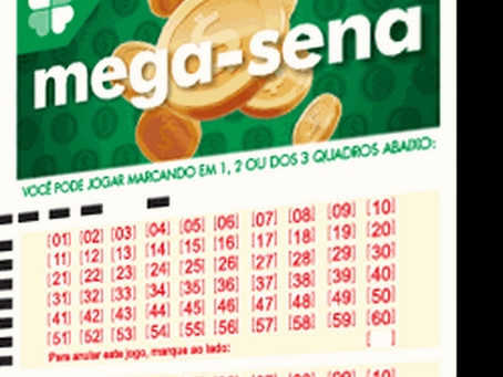 Acumulou o concurso 2.353 da Mega-Sena