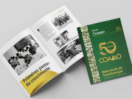 Revista Coamo destaca os 50 anos da cooperativa