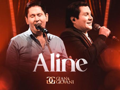 """Gian e Giovani divulgam o clássico """"Aline"""""""