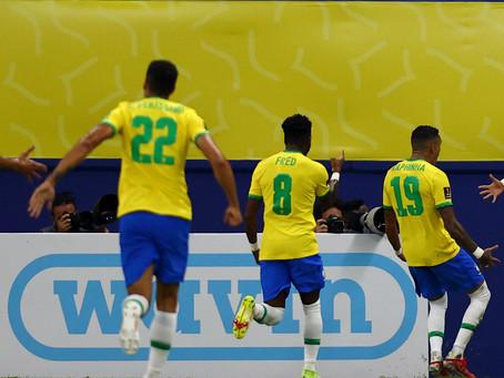 Brasil goleia Uruguai e fica bem perto da vaga para a Copa do Mundo