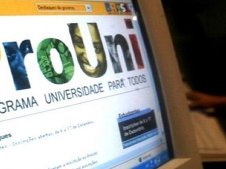 MEC abre segunda-feira inscrições para bolsas remanescentes do Prouni