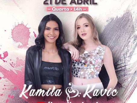 Live do Bem com Kamila e Kavic em prol ao Lar São Vicente de Paulo de Grandes Rios