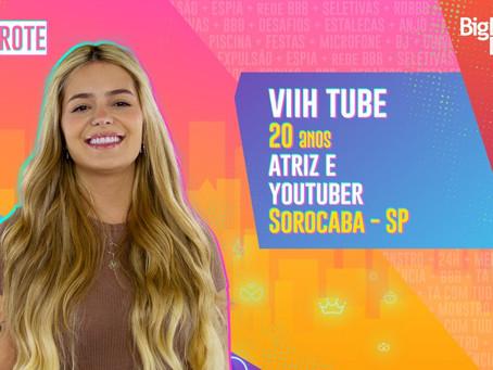 BBB21: Viih Tube é eliminada com 96,69% dos votos