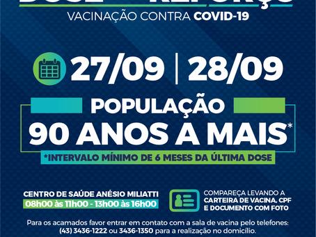 Veja como será vacinação contra Covid-19 em Cambira