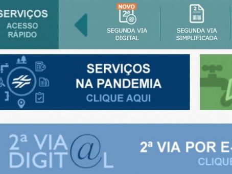 Sanepar lança segunda via digital