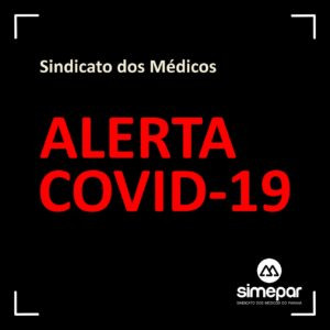 Sindicato dos médicos pede isolamento de 70% contra covid-19