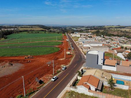 Apucarana investe na pavimentação para o desenvolvimento urbano