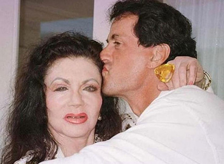 Morre aos 98 anos Jackie Stallone, mãe de Sylvester Stallone
