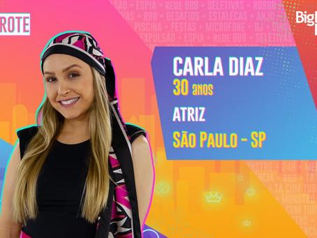 BBB21 - Carla Diaz é a sétima eliminada no paredão