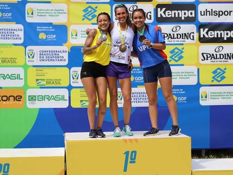 Paraná conquista 48 medalhas nos Jogos Universitários Brasileiros