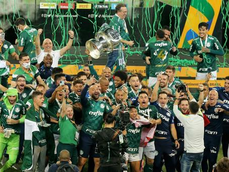 ESPORTE - Palmeiras é campeão na Copa do Brasil