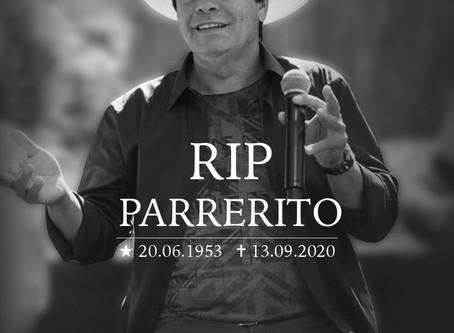 Morre o cantor Parrerito, do Trio Parada Dura