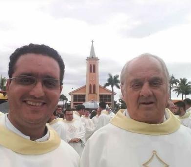 Diocese de Apucarana dá adeus aos Padres Francisco e Adriano, das Paróquias de Cruzmaltina e Faxinal