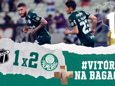 Palmeiras vence o Ceará, assume a terceira posição do Brasileiro