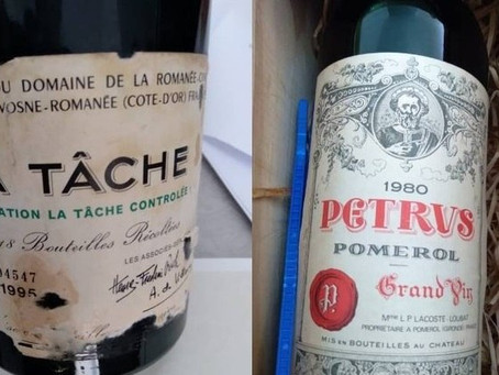 PF recupera Garrafas de vinho de R$ 56 mil roubadas do Itamaraty