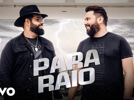 """Diego e Arnaldo lançam a faixa """"Para Raio"""""""