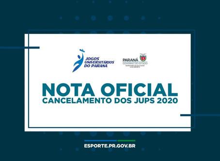 Secretaria cancela os Jogos Universitários do Paraná
