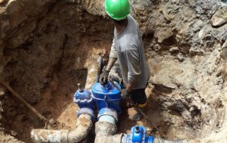 ORTIGUEIRA - Sanepar segue com obras no sistema de abastecimento