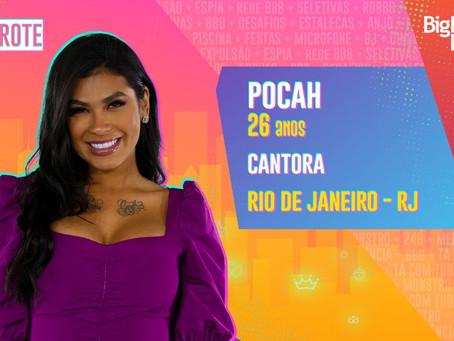 BBB21 - Pocah é eliminada no paredão com 73,16% dos votos