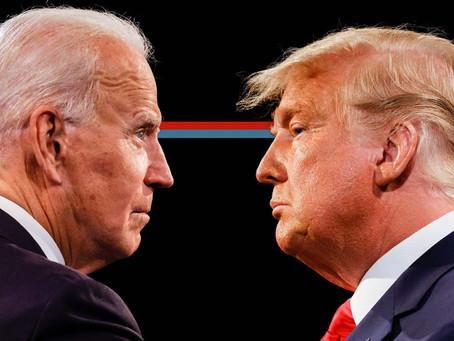 Hoje tem eleição nos EUA - Trump X Biden