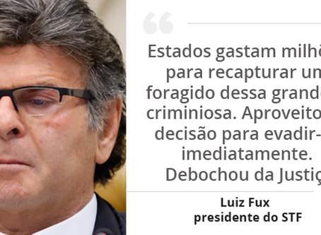 STF forma maioria a favor da prisão do traficante André do Rap