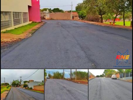 LUNARDELLI - Prefeitura realiza pavimentação e melhorias em diversas ruas