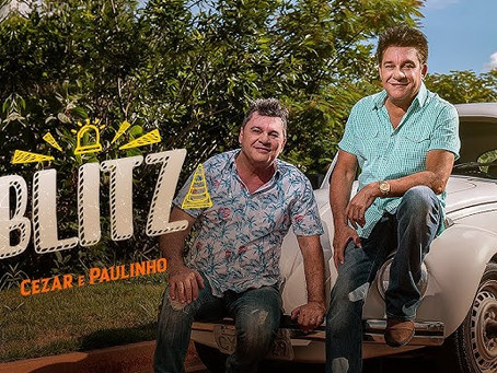 "Blitz Nacional do single ""Blitz"" de Cezar e Paulinho"