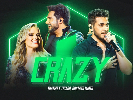 Dupla Thaeme e Thiago lança single 'Crazy' em plataformas e no YouTube
