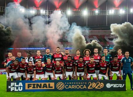 ESPORTE - Flamengo vence o Fluminense e é campeão carioca