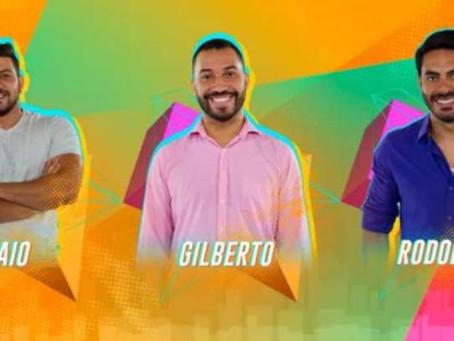 BBB21: Caio, Gil e Rodolffo formam paredão desta semana