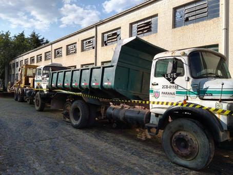 106 prefeituras manifestam interesse em doação de veículos do DER