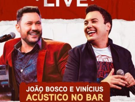 """JBeV sobem álbum gravado na live """"Acústico no Bar"""""""
