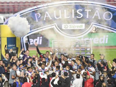 São Paulo conquista o Paulistão Sicredi