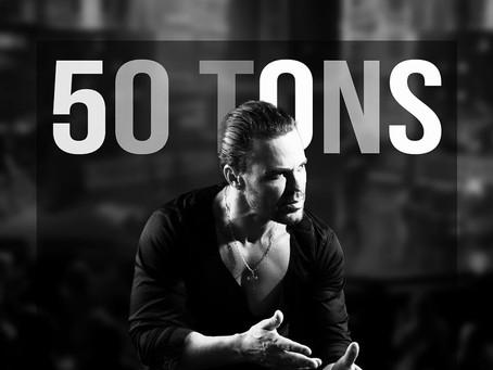 """Eduardo Costa lança """"50 Tons"""", álbum gravado em live"""