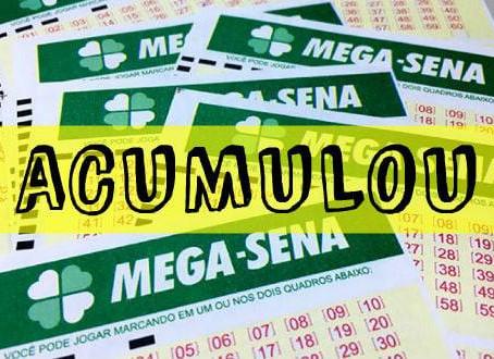 Acumulou concurso 2.326 da Mega-Sena