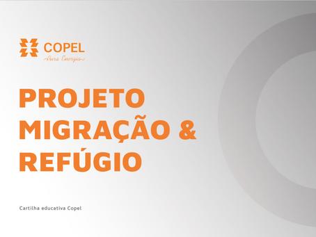 Copel lança cartilhas para migrantes e refugiados