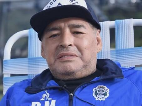 Luto na Argentina - Morte de Diego Maradona