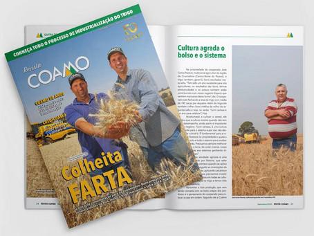 Revista Coamo destaca boa safra dos cooperados