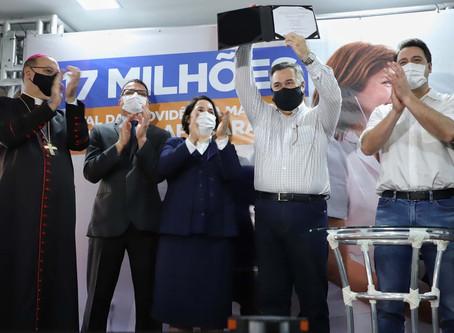 VALE DO IVAÍ - Governador Ratinho Junior autoriza as obras no Hospital da Providência de Apucarana