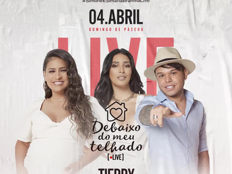 Dupla Simone e Simaria anuncia live para o domingo de Páscoa