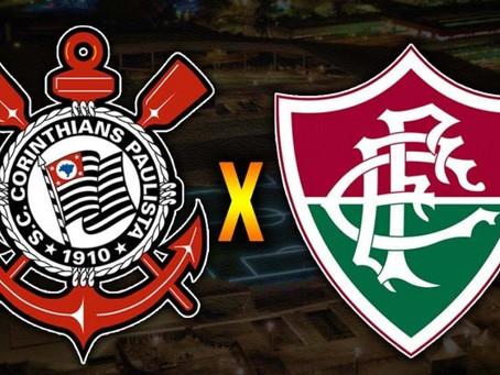 Corinthians recebe Fluminense na 26ª rodada do Brasileiro