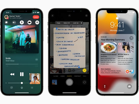 iOS 15 chega aos iPhones nesta segunda