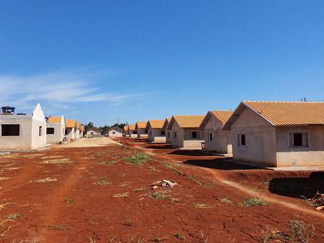 JARDIM ALEGRE - Construção de 41 casas populares chega a 65% de execução