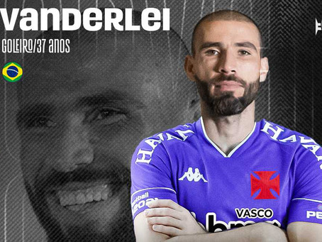 Vasco anuncia a contratação do goleiro Vanderlei
