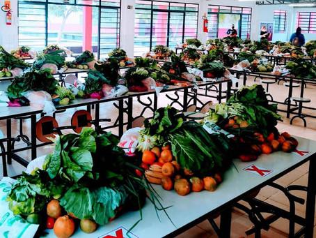 Colégios estaduais fazem 5ª entrega de alimentos do ano nesta sexta-feira
