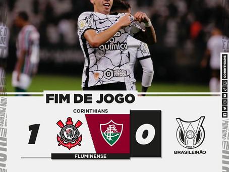 Corinthians derrota Fluminense por 1 a 0