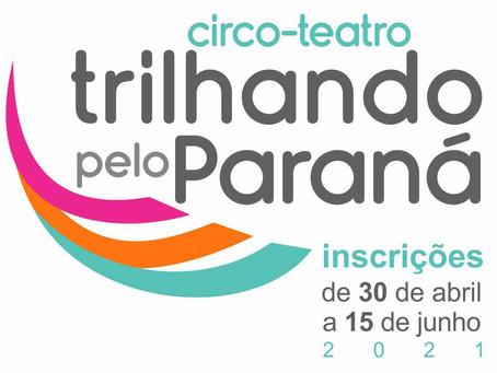 Cultura lança edital Trilhando pelo Paraná para espetáculos de circo-teatro